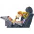 Hračka se dá pomocí suchých zipů připnout na opěradlo sedačky a zabaví Vaše děťátko během jízdy v autě.