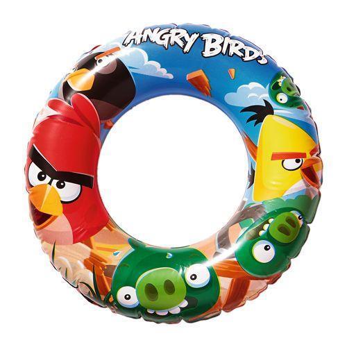 Bestway Nafukovací kruh - Angry Birds, 56 cm