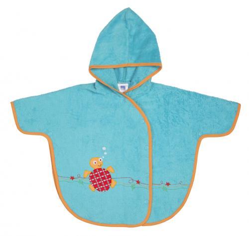 Bambinomio froté poncho s kapucí