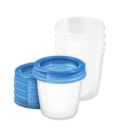 Avent VIA pohárky s víčkem 180 ml - 5 ks