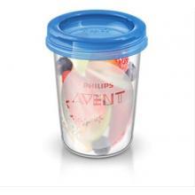 Avent VIA pohárky s víčkem 240 ml - 5 ks
