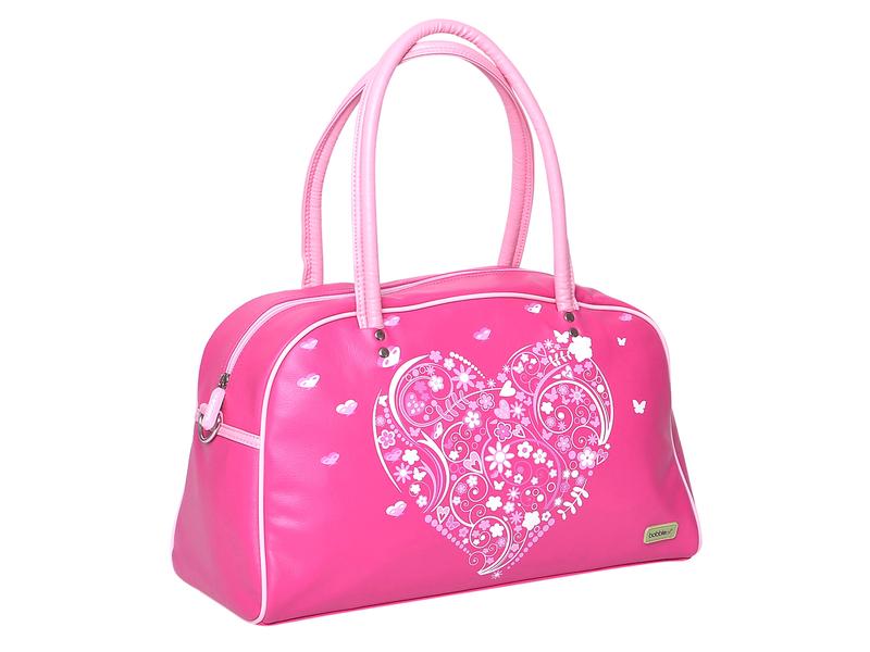 Stylová dívčí kabelka v krásném designu pro nošení v ruce i přes rameno. 9eedea2dc74