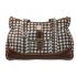 Přebalovací taška Canvas upoutá svým originálním designem i kvalitou provedení. Součástí tašky je velká přebalovací podložka, termoizolační pouzdro na lahvičku a samostatná taštička na zip.