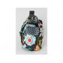 Přebalovací tašku 2v1 Double Duty můžete nosit přes rameno nebo na zádech jako batoh.