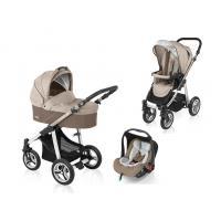 Kočárek Baby Design Lupo + autosedačka Baby Design Leo