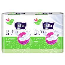 Bella Hygienické vložky Perfecta Ultra Green 10+10 ks