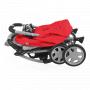 V ceně kočárku je pláštěnka, nánožník, madlo, tácek na rukojeti, nákupní košík, boudička a odrazky. Kočárek Baby Design Sprint je hliníkový sportovní kočárek s praktickým skládacím systémem.