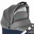 V ceně kočárku je podvozek, sportovní sedačka, hluboká korba, fusak, oboustranná deka, termoobal na kojeneckou láhev, taška s přebalovací podložkou, pláštěnka (na sportovní sedačku i korbu) a nákupní košík + autosedačka Cybex Aton Silver Line + adaptéry pro připevnění autosedačky na kočárek.