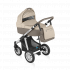V ceně kočárku je podvozek, sportovní sedačka včetně nánožníku, hluboká korba, taška s přebalovací podložkou, pláštěnka (na sportovní sedačku i korbu) a nákupní košík + autosedačka Cybex Aton Silver Line + adaptéry pro připevnění autosedačky na kočárek.