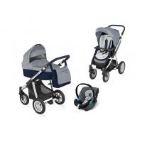 Kočárek Baby Design Dotty s autosedačkou Cybex Aton Silver Line