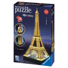 Ravensburger puzzle Eiffelova věž 3D - noční edice 216 dílků