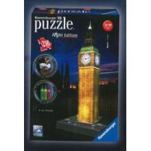 Ravensburger puzzle Big Ben 3D - noční edice 216 dílků