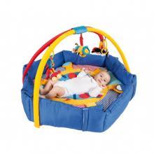 Canpol babies hrací deka se zvýšeným okrajem PIRÁTI