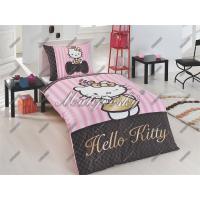 Matějovský Bavlněné povlečení Hello Kitty Gold 140x200 cm
