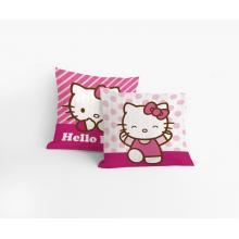 Matějovský povlak na polštářek Hello Kitty Patchwork 40x40 cm, krep