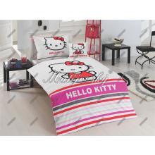 Matějovský Bavlněné povlečení Hello Kitty Stripe 140x200 cm