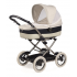 """Novorozenecká hluboká korba Culla je jediný kočárek, který může být """"svlečený"""" odepnutím horní vrstvy střechy a ochranného krytu korby - nánožníku a máte tak letní odlehčenou verzi. V ceně: korbička, Car kit (pásy) a taška na rukojeť kočárku."""