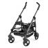 Lehký, kompaktní podvozek, ideální pro všechna využití. Skládá se podobně jako deštník a ve složeném stavu stojí samostatně.