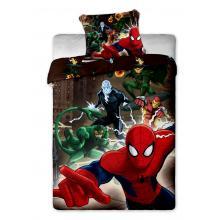 Jerry Fabrics Bavlněné povlečení Spiderman brown 140x200 cm