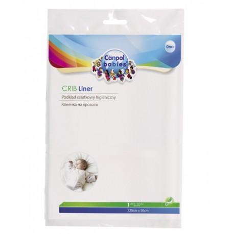Canpol babies igelitová podložka na matraci 120x50 cm
