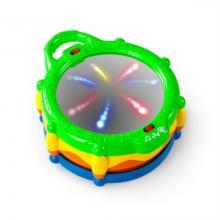 Bright Start Hračka Buben hudební a svítící Light & Giggle Drum™, 6-36 m