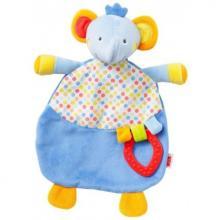 NUK POOL PARTY dečka-mazlíček+kousátko sloník