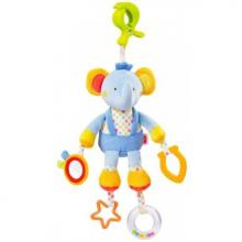 NUK POOL PARTY hračka s klipem sloník