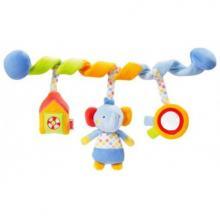 NUK POOL PARTY hračka spirála sloník