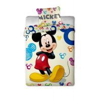 Jerry Fabrics Bavlněné povlečení Mickey colours 140x200 cm