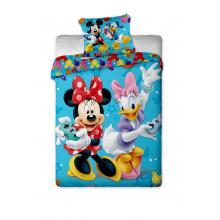 Jerry Fabrics Bavlněné povlečení Mickey a Minnie games 140x200 cm