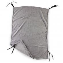 DIAGO deka ke kočárku fleece - šedá