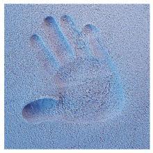 Licofun Otisk ručičky nebo nožičky modrý - karton