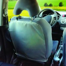 DIAGO ochranný kryt na přední sedadlo šedý