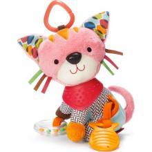 Skip Hop Hračka na C kroužku aktivní Bandana Buddies Kočička, 0m+