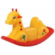 Scarlett plastová houpačka Žirafa žlutá
