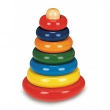 Bino Skládací pyramida barevná - káča