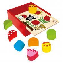 Bino Krabička s tvary - Krtek