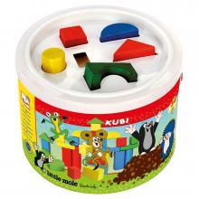 Bino Kostky v kbelíku - Krtek