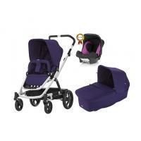 Kočárek Britax Go s hlubokou korbou + ZDARMA autosedačka Römer Baby-Safe plus