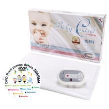 Baby Control Digital 200 Monitor dechu + DÁREK DVD - První pomoc dětem
