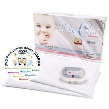 Baby Control Digital 220i Monitor dechu pro dvojčata + DÁREK DVD - První pomoc dětem