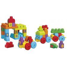 Mattel Mega Bloks FB 123 naučný vláček