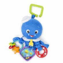 Baby Einstein Hračka na C - kroužku aktivní Octopus™, 0m+