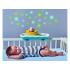Unikátní hrající a svítící hračka je určena pro 3 vývojová stádia dítěte. Lodička se pohybuje v základně tam a zpátky nebo samostatně na zemi dopředu.