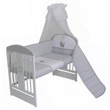 Depemo Tomi Povlečení do postýlky K4 - Ovečka šedá-fialová 135x100 cm