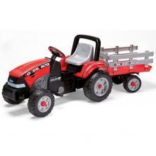 Peg Pérego Šlapací traktor Maxi Diesel Tractor s přívěsem