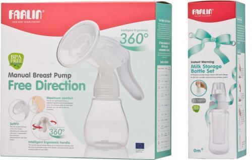 Farlin odsávačka mléka páková bez BPA
