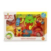 Bright Starts Dárková sada hraček Safari Gift Set™, 0m+