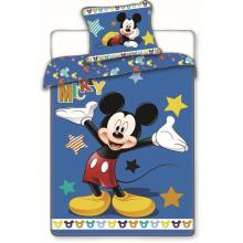 Jerry Fabrics Bavlněné povlečení Mickey Stars 140x200 cm