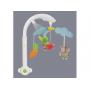 Hudební kolotoč Taf Toys nabízí kombinaci pohybu, světýlek a 8 klasických melodií v úpravě pro malé děti a celkové délce 30 minut.